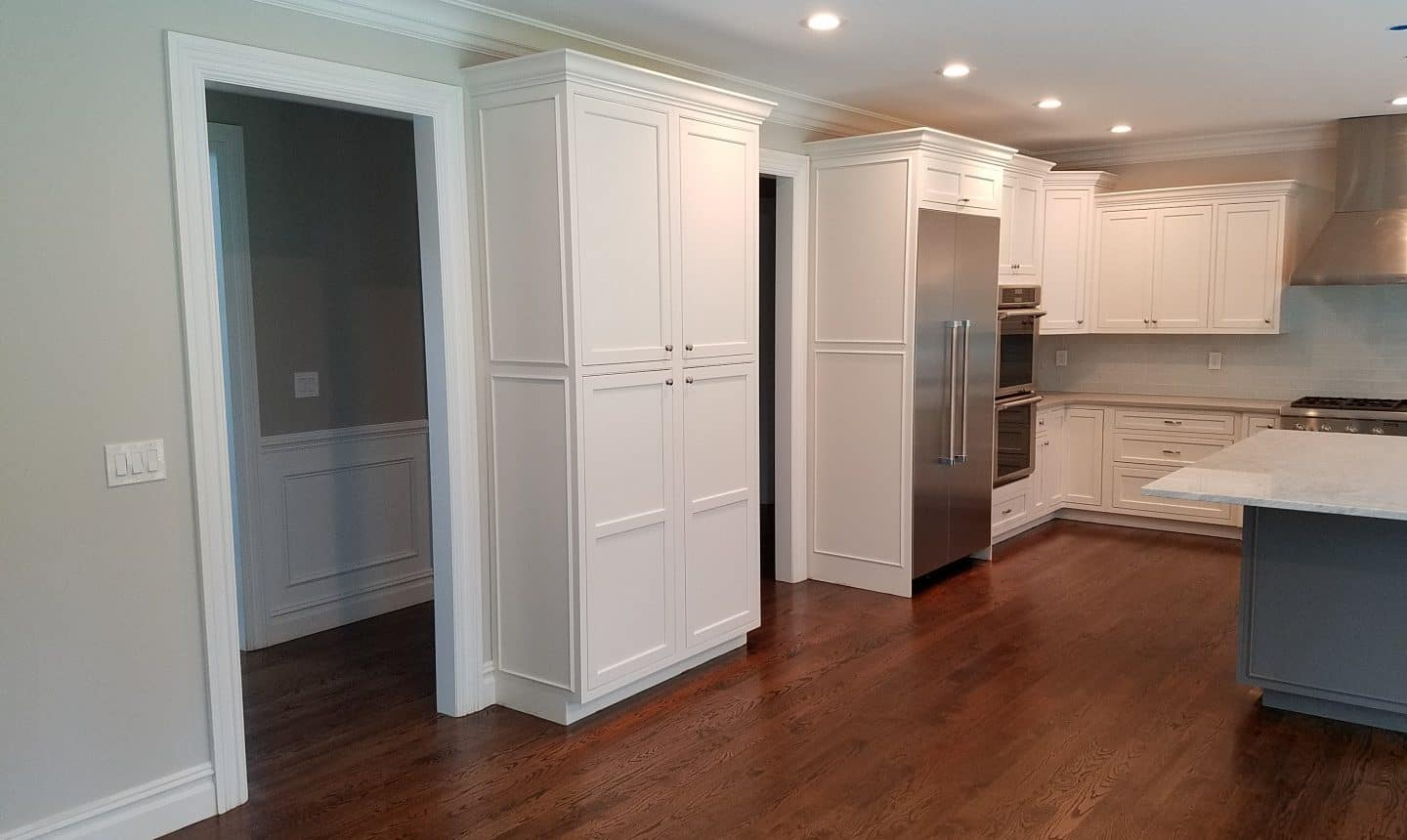 A lot of cabinets in these homes.