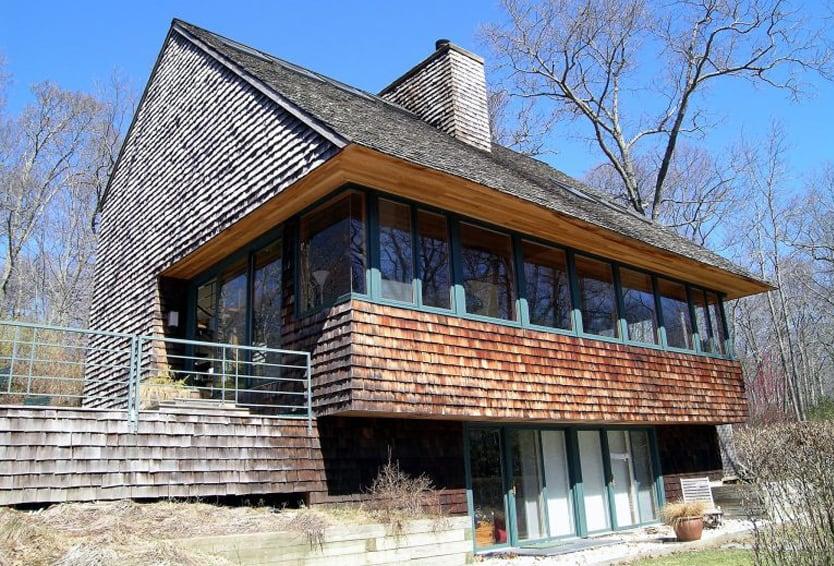dark brown architect homes