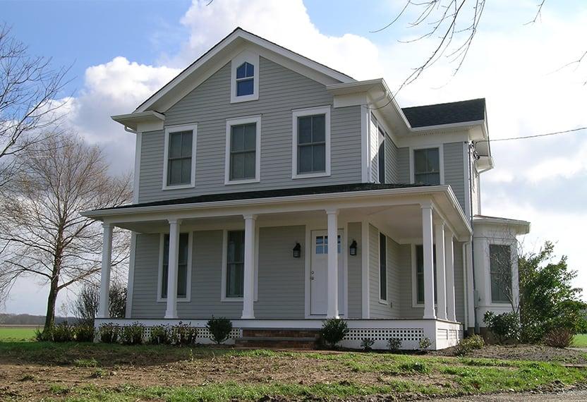 grey house architect